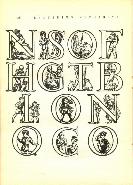 decorative letter t