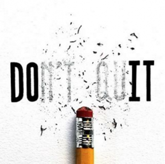 Don't Quit by Joey Bearbower