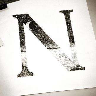N is for Night by Heather McKean