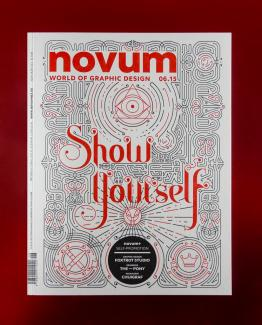 Novem's Show Yourself Issue cover by Foxtrot Studio