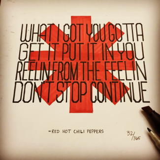 Red Hot Chili Peppers Lyrics by Tory Burke
